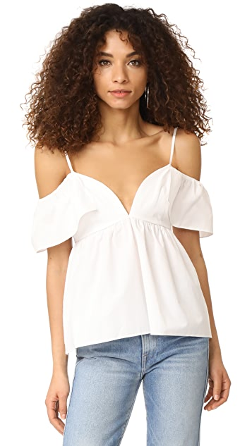 EDIT Ruffle Sun Top