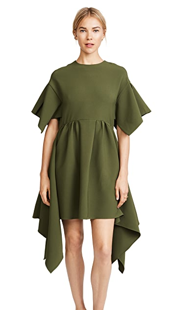 EDIT Oversized Box Pleat Dress