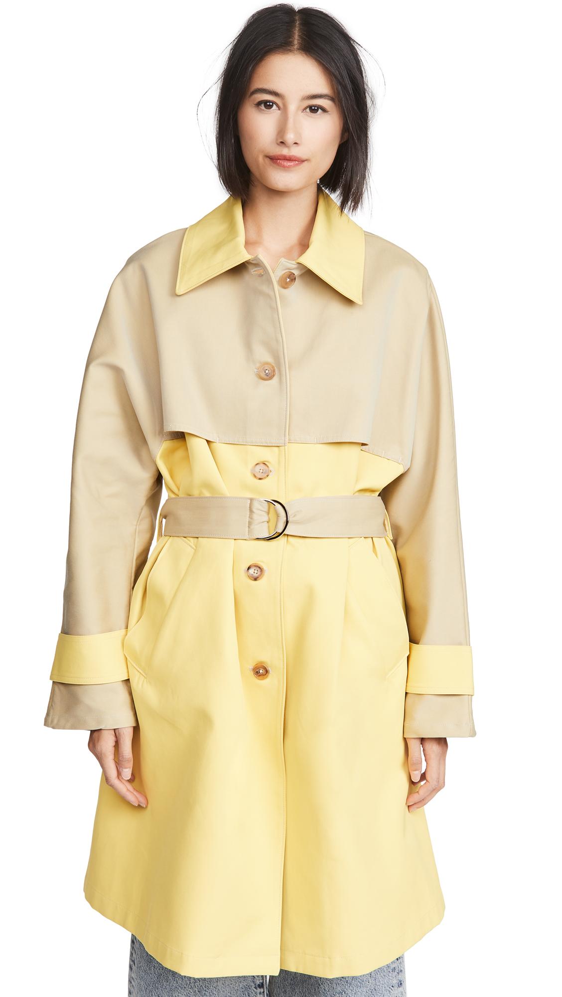 Buy ei8htdreams Roma Techno Cotton Trench Coat online beautiful ei8htdreams Jackets, Coats, Trench Coats