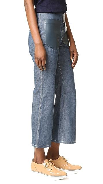 EDUN Denim Flared Pants