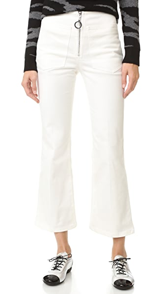 EDUN Denim Flares at Shopbop