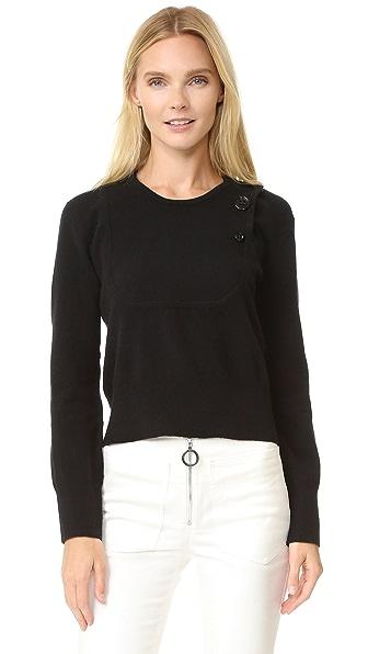 Edun Flat Front Sweater - Black at Shopbop
