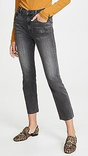 Edwin Узкие прямые укороченные джинсы Bree