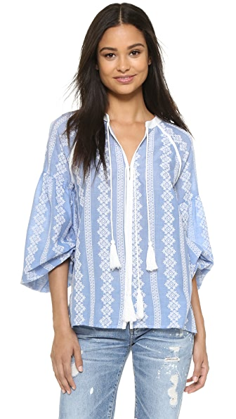 ENGLISH FACTORY Boho Blouse