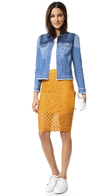 ENGLISH FACTORY Lace Skirt