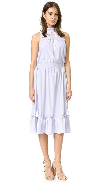 ENGLISH FACTORY Mock Neck Dress