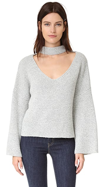 ENGLISH FACTORY V Neck Sweater