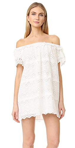 white eyelet dresses - SHOPBOP