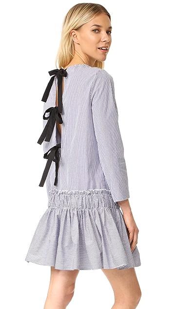 ENGLISH FACTORY Striped Dress