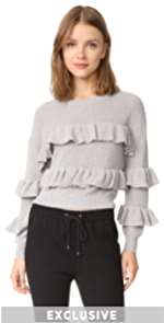 Ruffle Sweater ENGLISH FACTORY