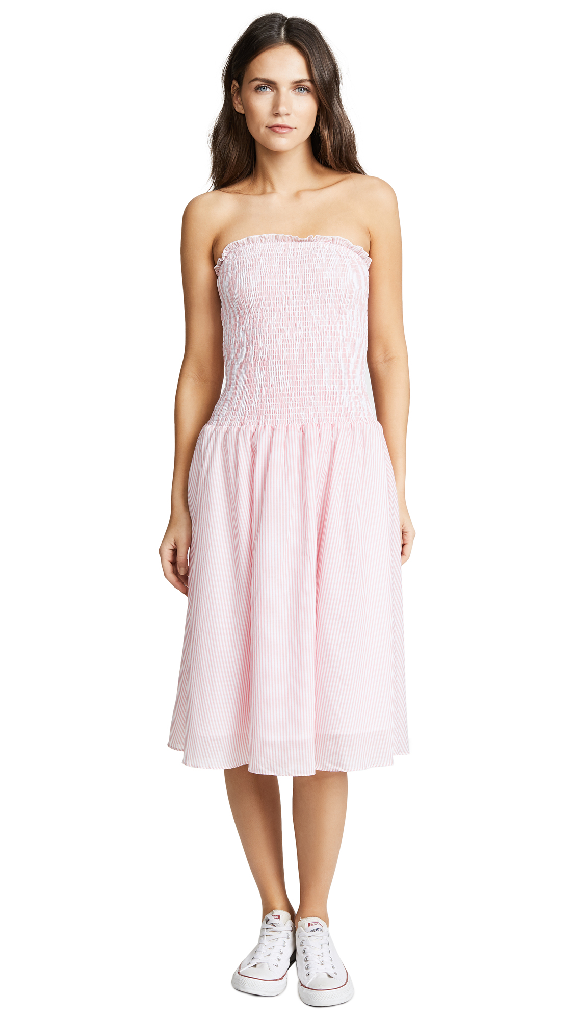 ENGLISH FACTORY Smocked Dress
