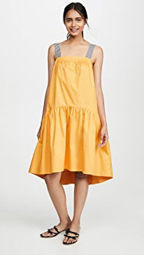 358478641 ENGLISH FACTORY. Shade Midi Dress