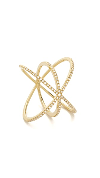 EF Collection Diamond Cage Ring