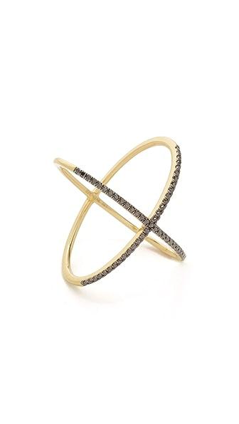 EF Collection Diamond X Ring