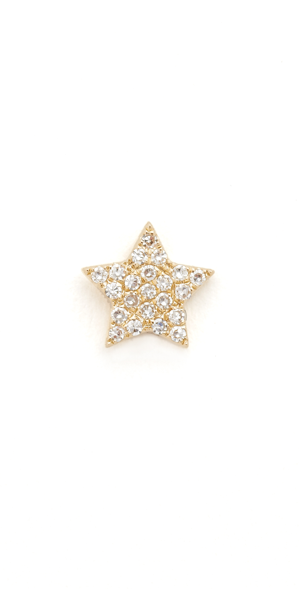 Diamond Star Single Stud Earring EF Collection