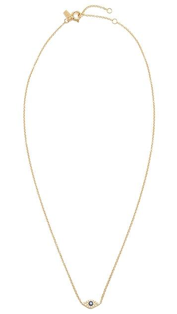 EF Collection Diamond Evil Eye Choker Necklace