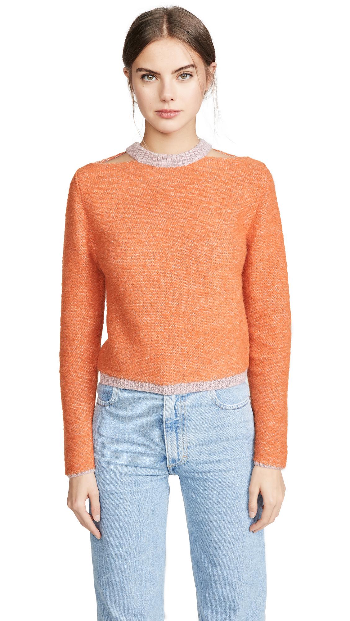 Buy Eckhaus Latta online - photo of Eckhaus Latta Alpaca Clavicle Sweater