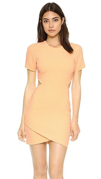 Elizabeth and James Skylyn Dress - Tangerine