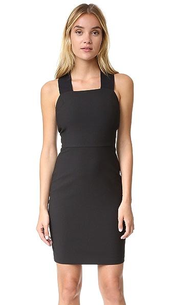 Elizabeth and James Maddie Strappy Back Dress - Black