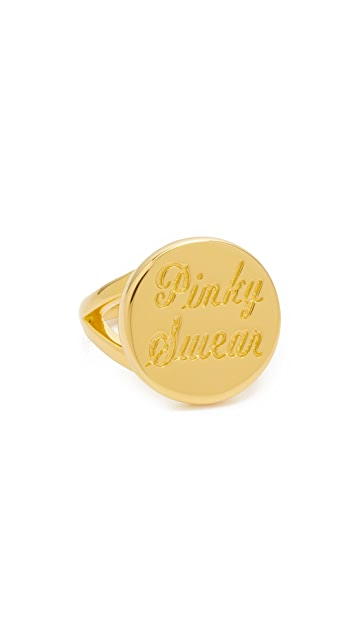 Elizabeth and James Pinky Swear Pinky Ring