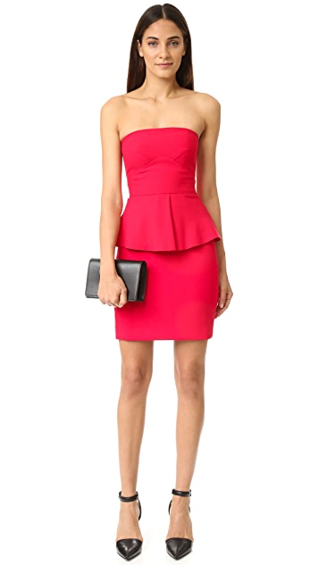 Elizabeth and James Laurel Strapless Dress