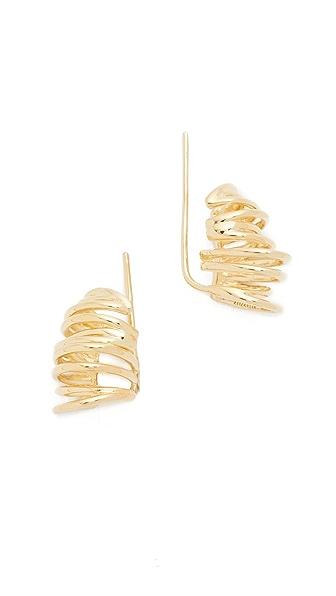 Elizabeth and James Roxy Earrings In Gold