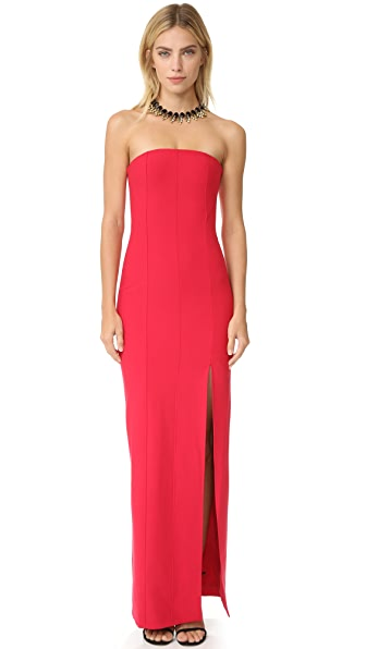 Elizabeth and James Carly Gown - Cardinal