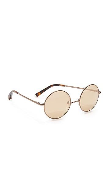 Elizabeth and James Mott Round Sunglasses