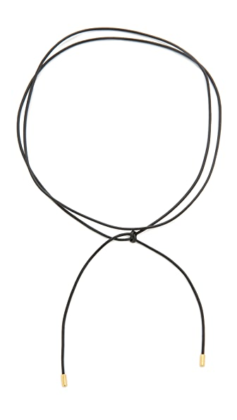 Elizabeth and James Fiona Necklace - Black