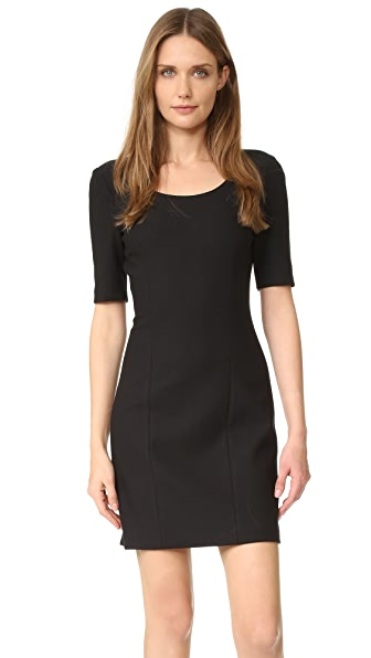 Elizabeth and James Aiden Dress - Black