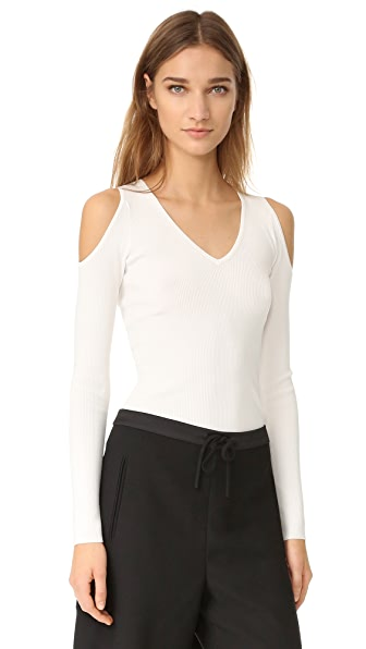 Elizabeth and James Cheyenne Split Shoulder Top
