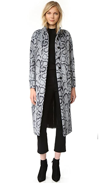 Elizabeth and James Balin Coat - Grey/Navy