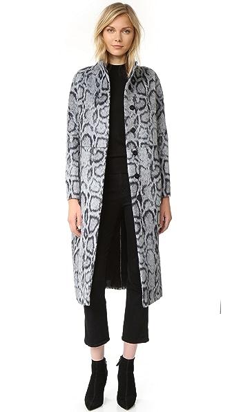 Elizabeth and James Balin Coat - Grey/Navy