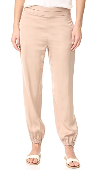 Elizabeth and James Pascal Tapered Bottom Pants - Champagne