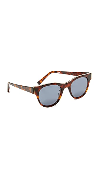 Elizabeth and James Blair Sunglasses - Tortoise/Blue Mono