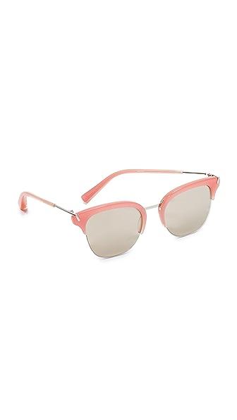 Elizabeth and James Burke Flash Sunglasses - Bubblegum/Smoke Flash