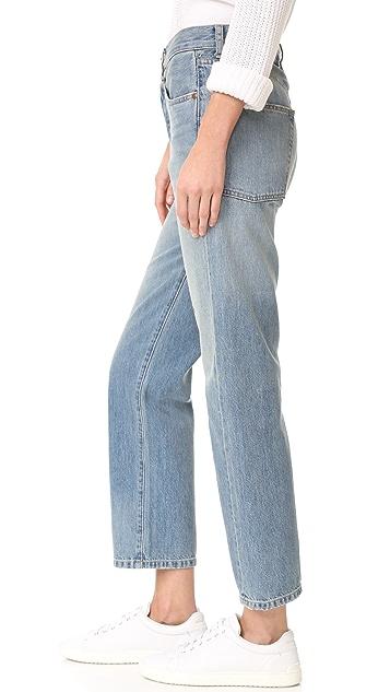 Elizabeth and James Boyfriend Jeans