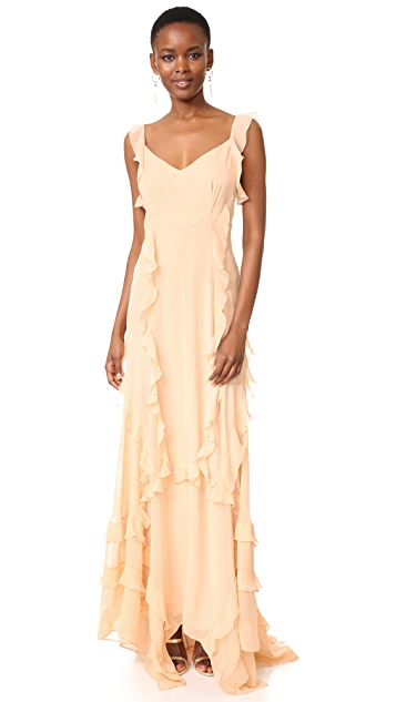Elizabeth and James Catherine Ruffle Gown