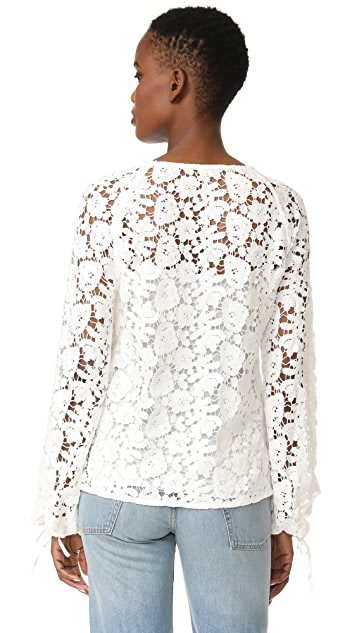 Elizabeth and James Chantalle Top
