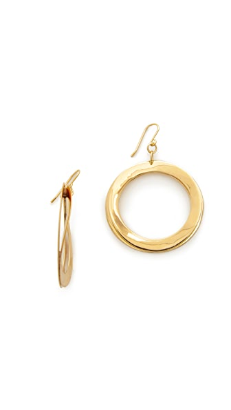 Elizabeth and James Avila Earrings - Gold