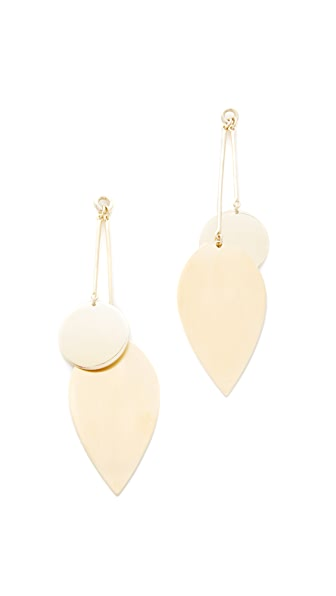 Elizabeth and James Avalon Earrings - Gold