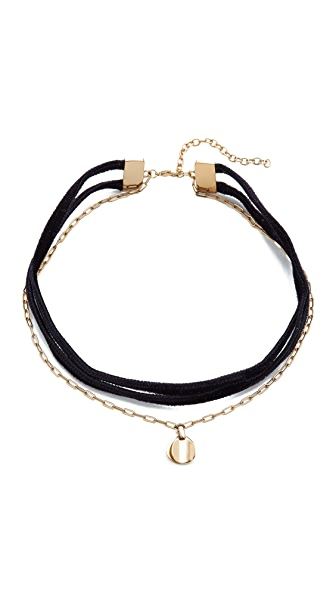 Elizabeth and James Morrow Choker Necklace - Gold