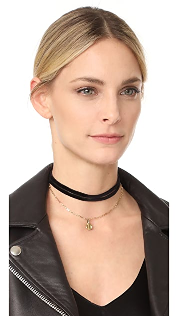 Elizabeth and James Morrow Choker Necklace