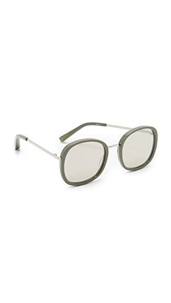 Elizabeth and James Jones Sunglasses - Tortoise/Blue