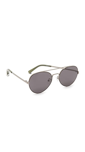 Elizabeth and James York Sunglasses - Black/Smoke