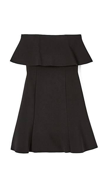 Elizabeth and James Hickory Double Layer Dress