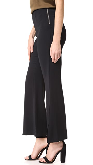 Elizabeth and James Carel Side Zip Flare Pants
