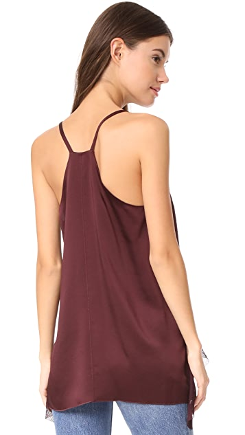 Elizabeth and James Manette Ruffled Tank