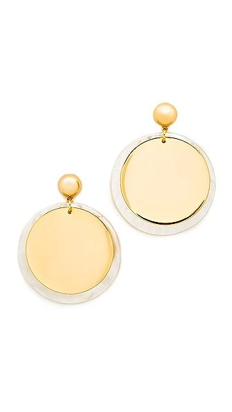 Elizabeth and James Goldie Earrings - Gold