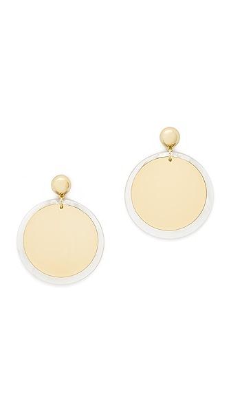 Elizabeth and James Goldie Earrings